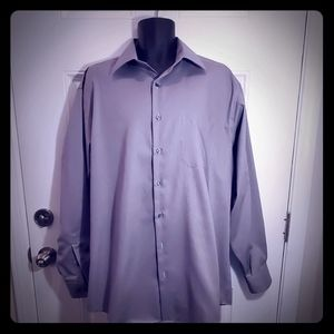 Long sleeve button-down